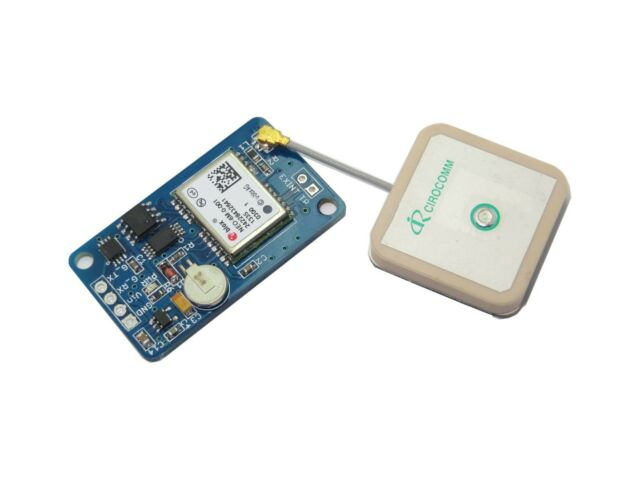 New Ublox NEO-6M GPS module(compatible with 3.3V-5V interface,with EEPROM,Flash)