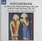 Joseph Rheinberger - Rheinberger: Six Pieces for Violin and Organ, Op. 150; Suite for Violin and Organ, Op. 166 (2004)