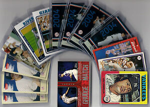 New-York-Yankee-Lot-14-cards-Ex-Mt