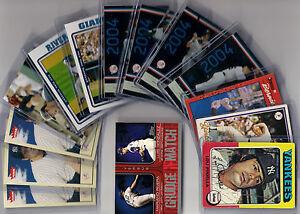 New-York-Yankee-Lot-14-cards-Ex-Mt
