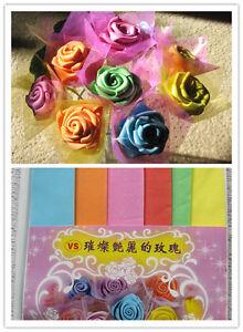 Origami Folding Sponge Paper For Handmade Roses Wedding Party Celebration