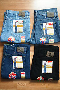 Wrangler-100-Genuine-Relaxed-Fit-Men-039-s-Jeans-Heavy-cotton-ONE-PAIR