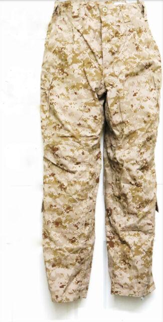 NWOT USMC Frog Combat Digital Desert Marpat Trouser Size Large Long