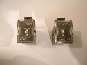 95 nissan maxima fuse box *two fuses* nissan maxima 95-99 altima 93-97 alternator fl75a 75a 75amp fuse | ebay 1998 nissan maxima fuse box