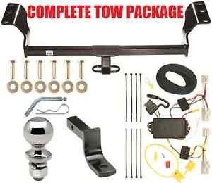 2009 2010 pontiac vibe trailer hitch wiring kit draw bar no drill ebay