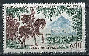 STAMP-TIMBRE-FRANCE-NEUF-LUXE-N-1495-HISTOIRE-VERCINGETORIX