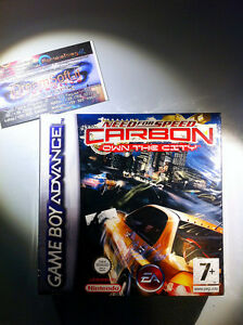 NEED-FOR-SPEED-CARBON-SIGILLATO-SEALED-NEW-NINTENDO-GAMEBOY-RARO-NDS-GBASP