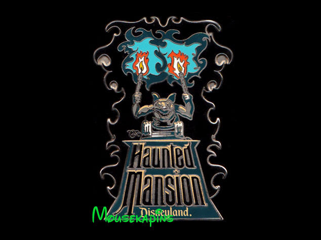 Disneyland HAUNTED MANSION GARGOYLE with Torches Disney 2006 Pin