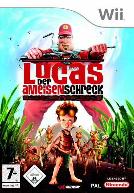 Lucas der Ameisenschreck - Nintendo Wii - NUR CD gebraucht