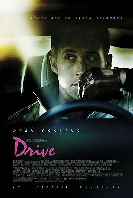 DRIVE movie poster print RYAN GOSLING poster : 11 x 17 inches :