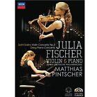 Julia Fischer - Julia Fischer, Junge Deutsche Philharmonie And Matthias Pintscher (DVD, 2010)