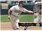 1993 Upper Deck Future Heroes Mark McGwire Oakland Athletics #60 Baseball Card