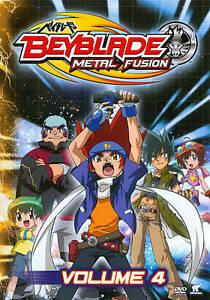 Beyblade Metal Fusion Vol 4 Dvd Region 1 Ebay