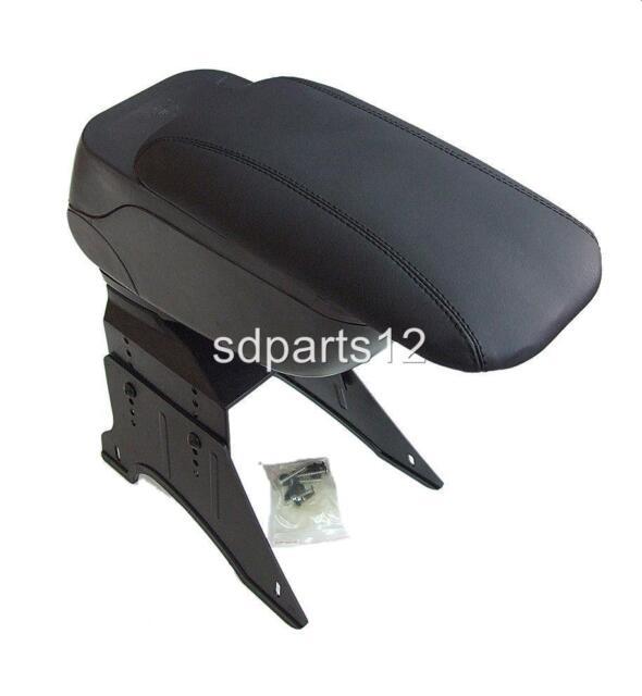 Black Armrest Centre Console Arm for FIAT BRAVO BRAVA GRANDE PUNTO 500 PANDA New