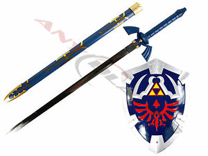 Link-039-s-Hylian-Shield-and-Master-Sword-from-the-Legend-of-Zelda-SET