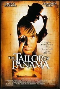 THE-TAILOR-OF-PANAMA-27x40-Original-Movie-Poster-One-Sheet-PIERCE-BROSNAN-2001