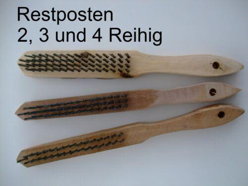 Fil Brosse 2-3-et 4 reihig fil brosses 3 pièces