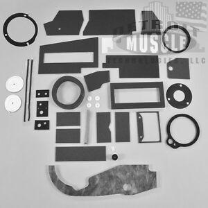 DMT-MOPAR-67-72-A-Body-A-C-AC-Heater-Box-Resto-Kit-BASIC