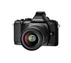 Olympus OM-D E-M5 16.1 MP Digital Camera - Black (Kit w/ II R 14-42mm Lens)