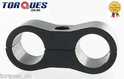 AN -8 (8AN AN08) 13.5mm Teflon Hose Black Billet Aluminium Fuel Hose Separator