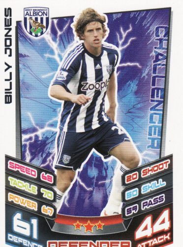 Match Attax 12//13 West Bromwich Albion Cards Pick Your Own From List