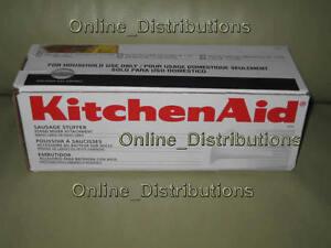 NEW-Kitchenaid-SSA-Sausage-STUFFER-Kit-MIXER-ATTACHMENT