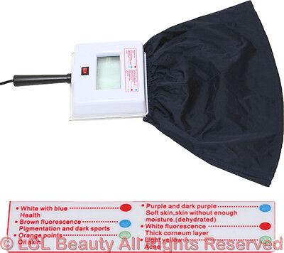 Portable Magnifying Woods Lamp Skin Care Facial Analyzer Beauty Salon Equipment