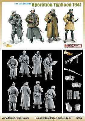 Dragon - 1/35 WWII Infantry & Panzer Tank Crew