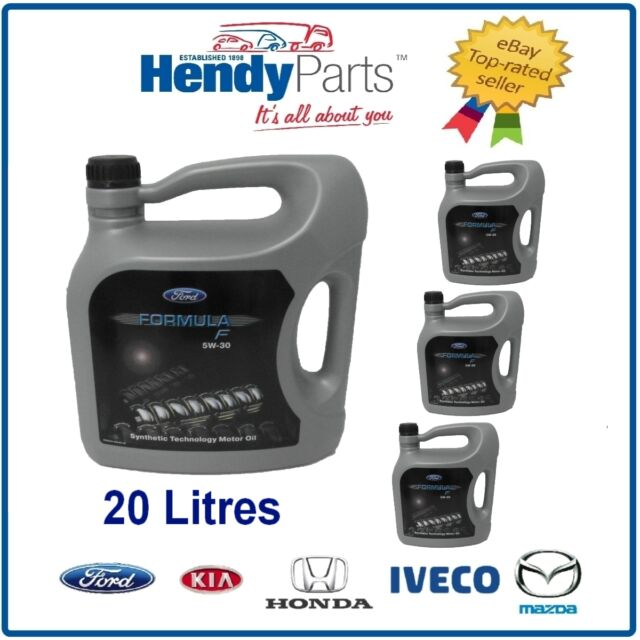 Multi Vehicle Genuine Ford Oil 5W 30 Formula F 20 litres Fully Synthetic