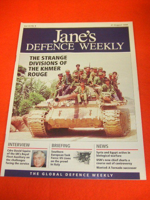 JANES DEFENCE WEEKLY - THE KHMER ROUGE - AUG 21 1996 VOL 26 # 8