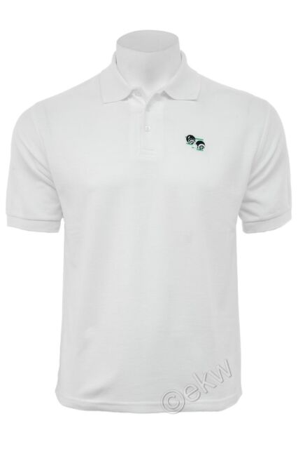 Lawn Bowls Bowling White Polo Shirt with Logo