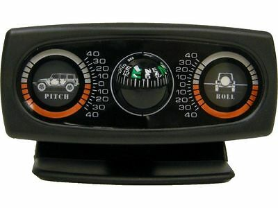 1976-2017 Jeep Wrangler & CJ Rampage Inclinometer with JK Graphics & Compass