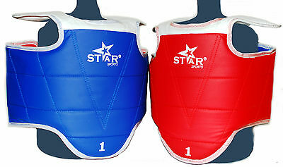 STAR SPORTS WTF HOGU CHEST PROTECTOR GUARD TAEKWONDO TKD Sparring gear chest