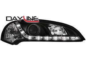 Opel-Tigra-A-DRL-LED-Headlights-Dayline-black