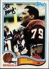 1982 Topps Ross Browner Cincinnati Bengals #43 Football Card
