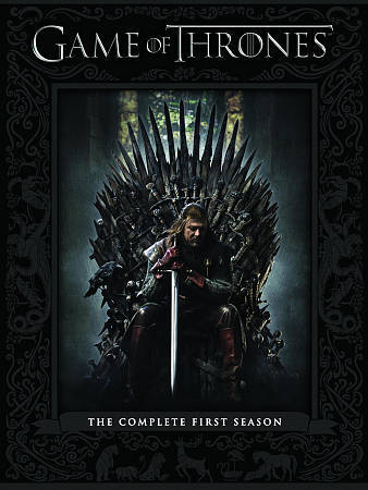 Game of Thrones: The Complete First Season (DVD, 2012, 5-Disc Set) DVD SALE!!!!