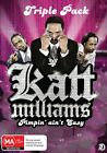Katt Williams - Pimpin' Ain't Easy (DVD, 2013, 3-Disc Set)