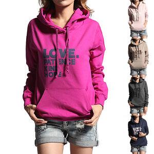 LOVE-Print-Vintage-Basic-Cozy-Pullover-SweatShirts-Hoodie-Lounge-Top-w-Pocket