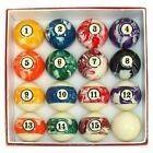 Poker Color Swirls Billiard Ball Set - 40SWBALLS