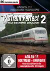 ProTrain Perfect 2 Add-On 12: Dortmund-Hannover (PC, 2012, DVD-Box)