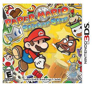 NEW-Paper-Mario-Sticker-Star-Nintendo-3DS-2012-Video-Game