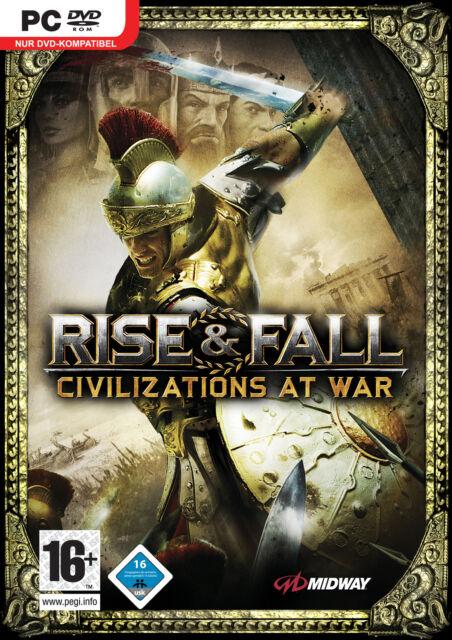 Rise & Fall: Civilizations At War (PC, 2006, DVD-Box)