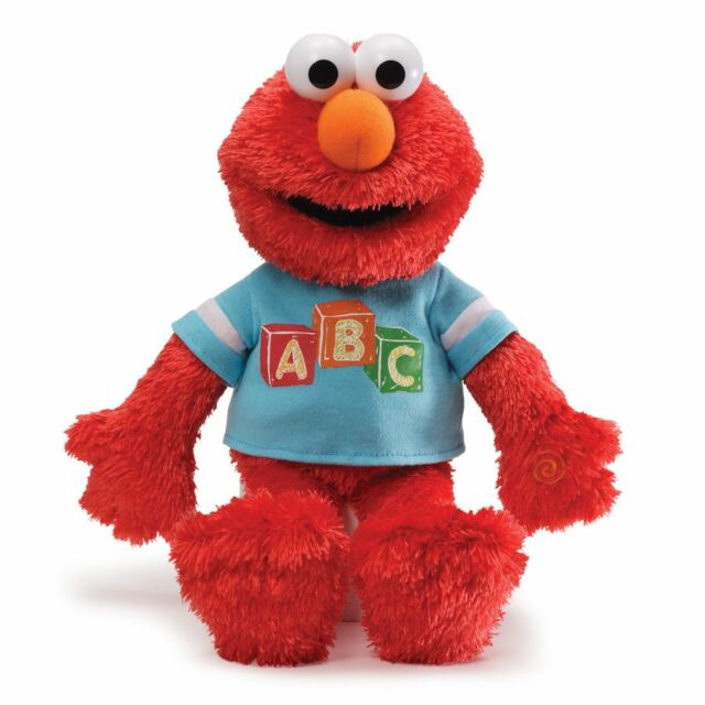 GUND - SESAME STREET - ABC SINGING  ELMO  - PLUSH LEARNING TOY - SALE