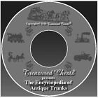 Encyclopedia of Antique Trunks : The Book of Antique Trunks by Treasured Chests (2011, CD-ROM)