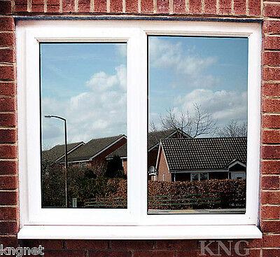 "50cm One Way Mirror Window Film Two Way Silver Solar Reflective Tint 20"""
