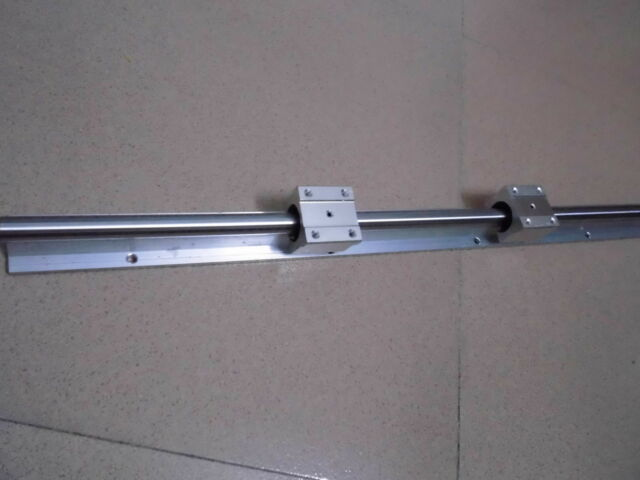 1 x SBR16-1500mm 16MM FULLY SUPPORTED LINEAR RAIL SHAFT &2 SBR16UU Blcok bearing