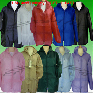 Ladies-Womens-Kagool-Cagoule-Kagoule-Rain-coat-Rain-Jacket-Mac-New-1St-Class