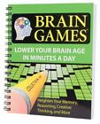 Brain Games 4 by Publications International Staff (2007, Paperback)