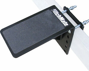 "HitchMate Boat Trailer Step 5"" x 9"" Platform 4036 5 inch Solid Non Slip Surface"