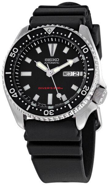 76b2815af45 Seiko Diver SKX173 Wrist Watch skx007 200m 7s26 RARE automatic rubber 22mm